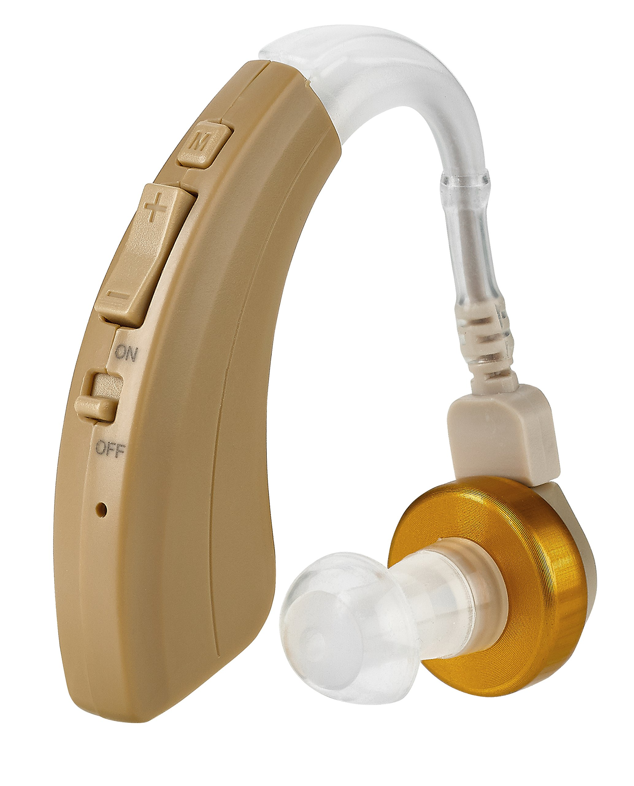 """Digital Hearing Amplifier by NewEAR VHP-220. 500hr Battery Life, Modern Design, Doctor and Audiologist designed """" FDA Approved """" by NewEar"""