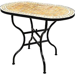 Amazon De Original Marokkanischer Mosaiktisch Gartentisch