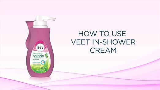 Amazon.com: Crema depilatoria Veet para ducha Botanic ...