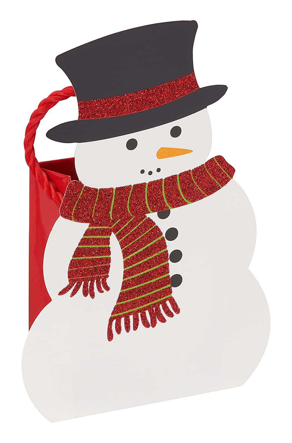 American Greetings Christmas Gift Card Holder, Snowman