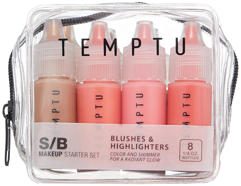 Temptu S B Blush Highlighter 8 Piece Starter Set