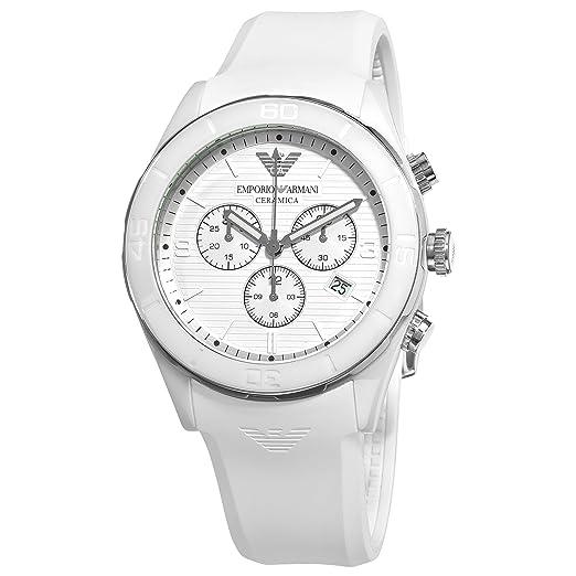 016c1b5c9bcd Emporio Armani AR1435 - Reloj cronógrafo de Cuarzo para Hombre ...