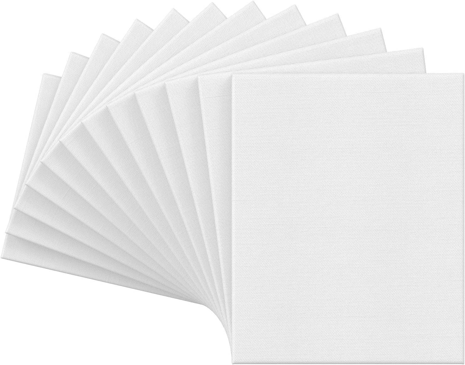 Cotton Stretched Canvas,Double Acrylic Primed Painting Canvas with Wooden Frame Medium Weight Blank Canvas 3pcs(polygons) Ideal for Acrylic or Oil Paints Acid-Free