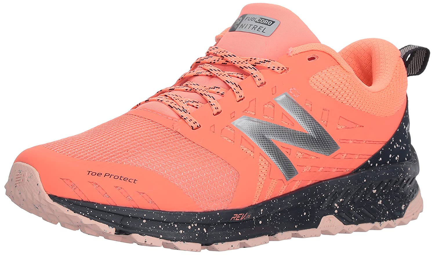 New Balance Women's Nitrel v1 FuelCore Trail Running Shoe B0751RBN3H 7.5 D US|Fiji