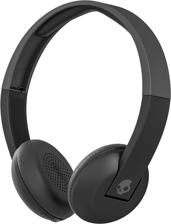 Skullcandy Uproar Wireless Bluetooth Headphones with Onboard Microphone/Remote, Black/Gray