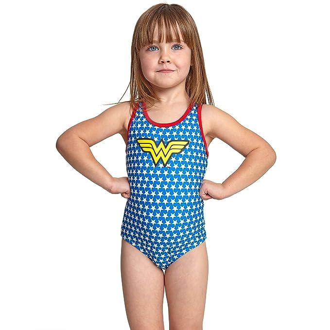 Zoggs Wonder Woman Actionback Traje de baño de una Pieza ...