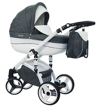 wiejar Evado T + Eco 08 – Cochecito de bebé, sillita cochecito Version Promenade sistema
