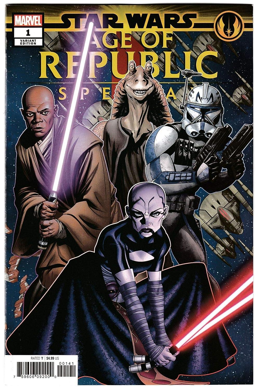 Star Wars AOR Age Of Republic Special #1 Mckone Puzzle Piece Variant (2019) NM