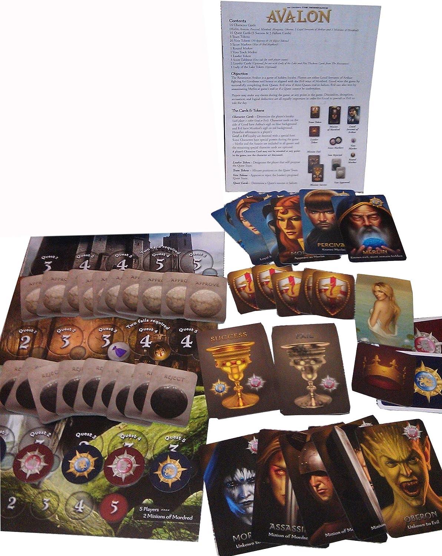 The Resistance: Avalon Indie Borad Games Juego de Mesa (en inglés ...