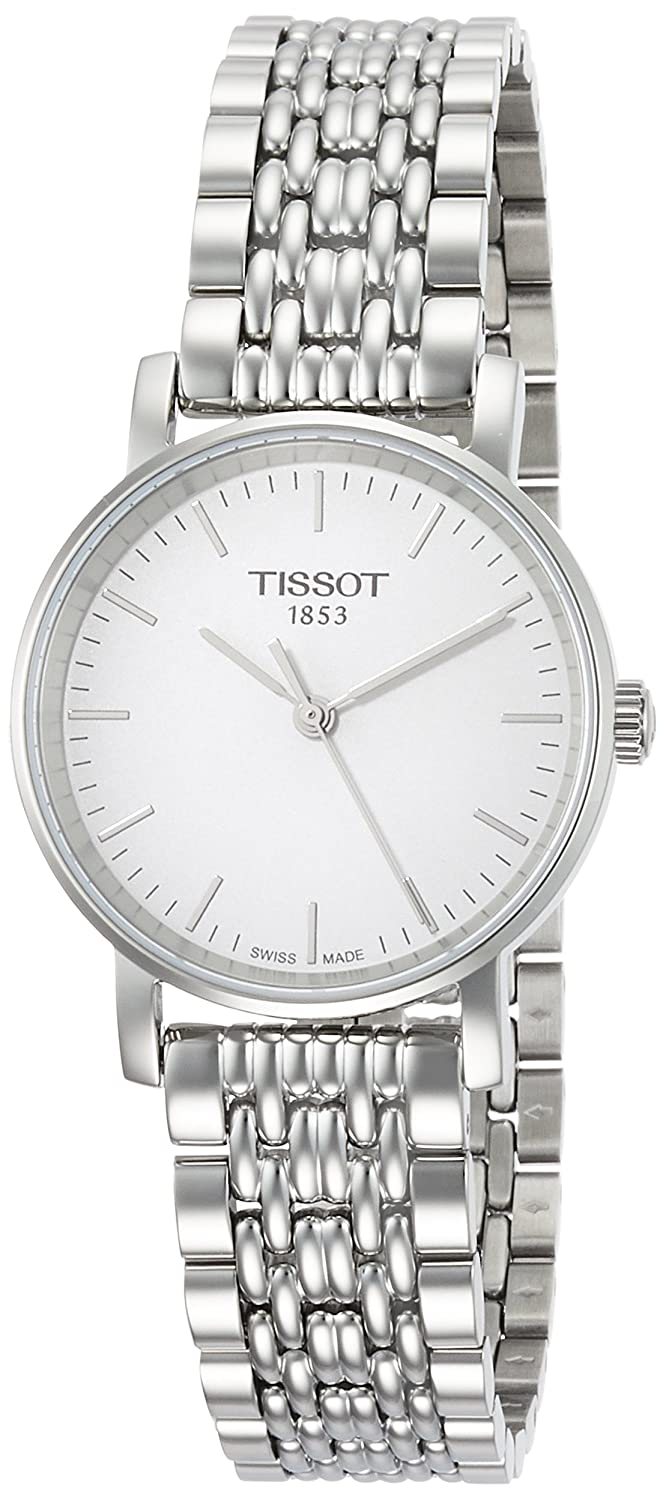 Amazon.com  Tissot Women s Everytime Small - T1092101103100 Silver Grey One  Size  Tissot  Watches 903bb8f955