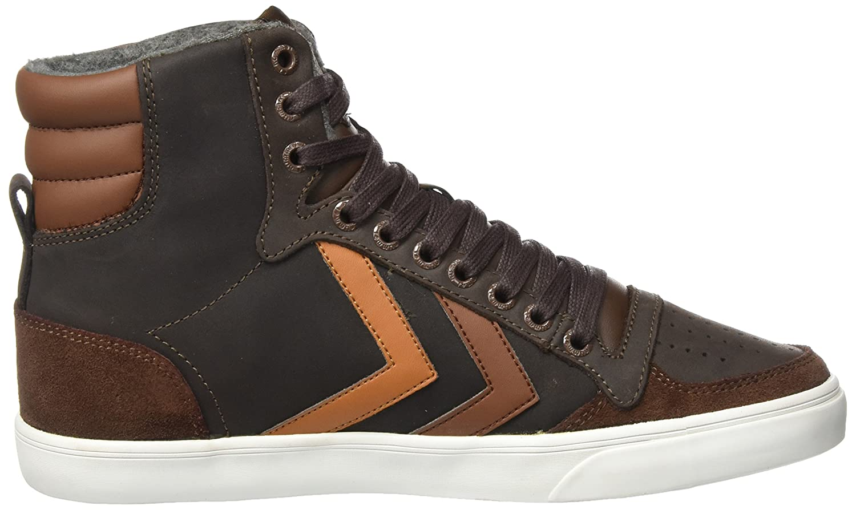 Hummel Unisex-Erwachsene High Slimmer Stadil Duo Oiled High Unisex-Erwachsene Hohe Sneaker Braun (Chestnut) b48fd3