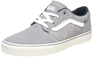 63ef67fed10 Vans Men s Mn Chapman Stripe Low-Top Sneakers  Amazon.co.uk  Shoes ...