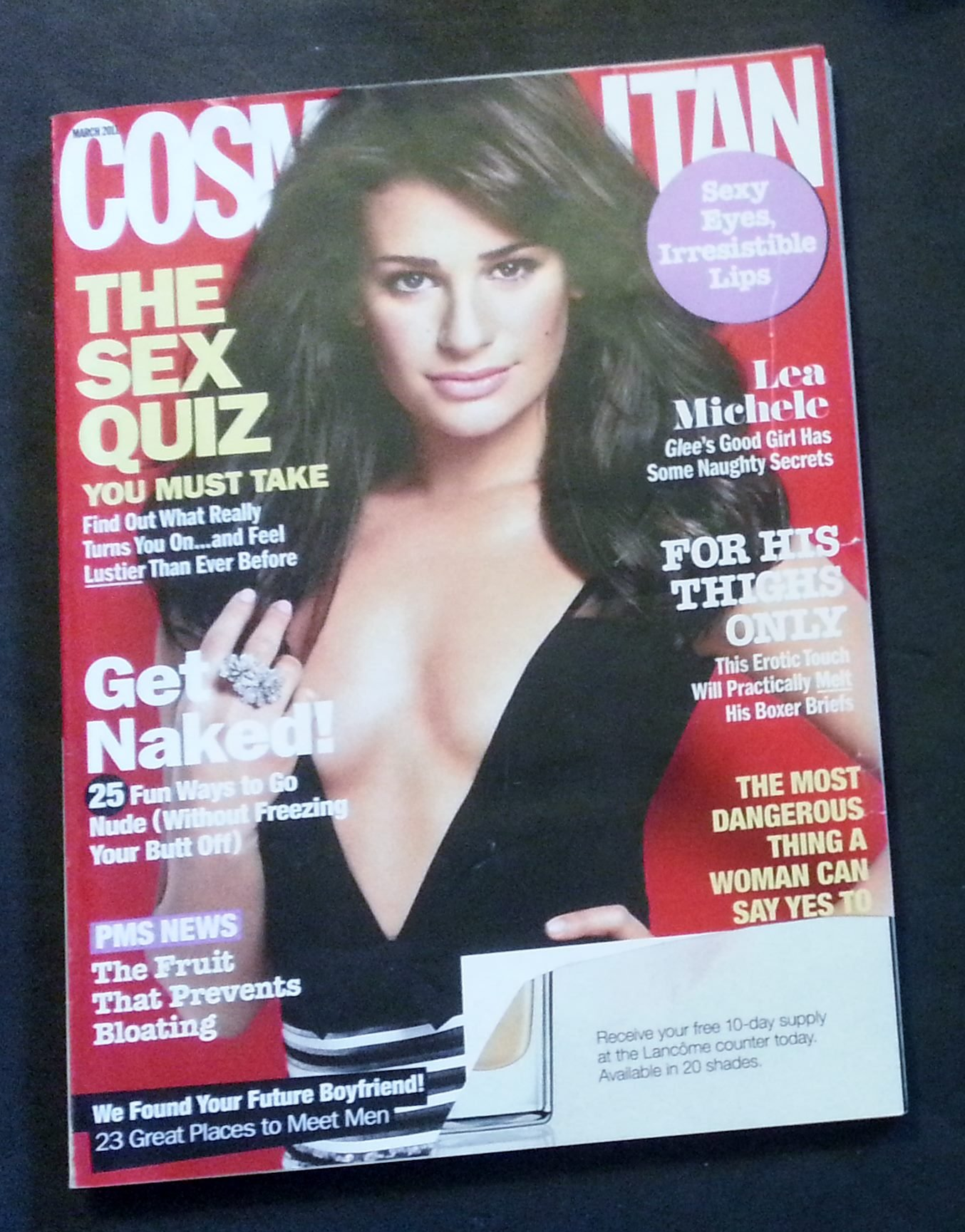 Cosmopolitan Magazine (March, 2011) Lea Michele Cover ebook