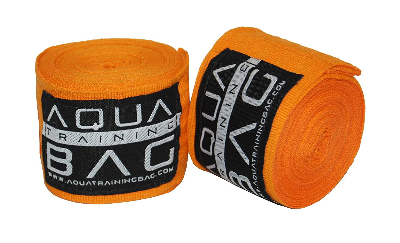 180 ″ Hand Wraps for Boxing、トレーニング& MMA B06WVCNQVP Fireball Orange