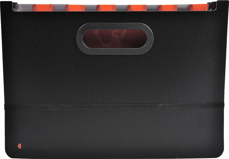 Noir 33 cm Exacompta Exactive Organiseur de bagage