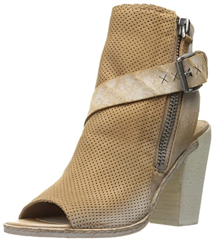Dolce Vita Women's North Ankle Bootie, Saddle Perforated Nubuck, ...