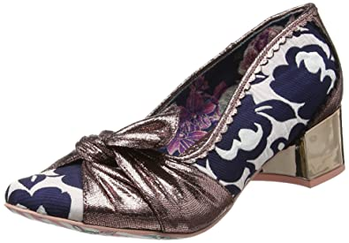 Dazzle Razzle, Escarpins Femme - Black (Gold/Black), 39 EU (6 UK)Irregular Choice