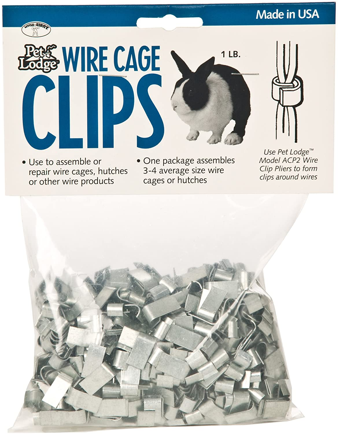 Wire Clip Pliers For Attaching Wire Clips To Hutches Pet Cages Miller Mfg ACP2