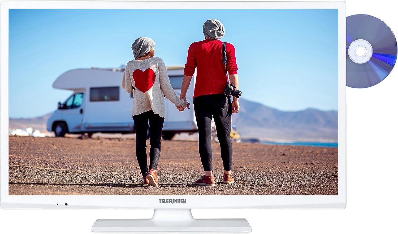 Televisor Telefunken XH24A101VD-W 61 cm (24 pulgadas) (HD Ready, sintonizador triple, reproductor de DVD): Amazon.es: Electrónica