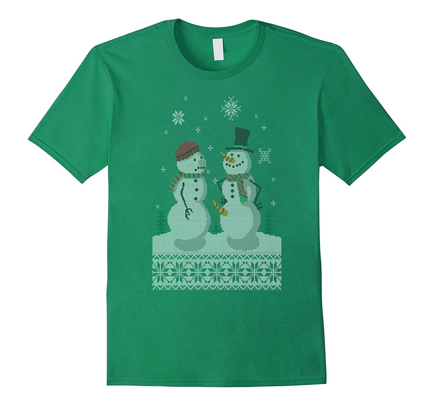 Holiday Sweater Happy Snowman Gift Merry Chrismast For Kid-RT