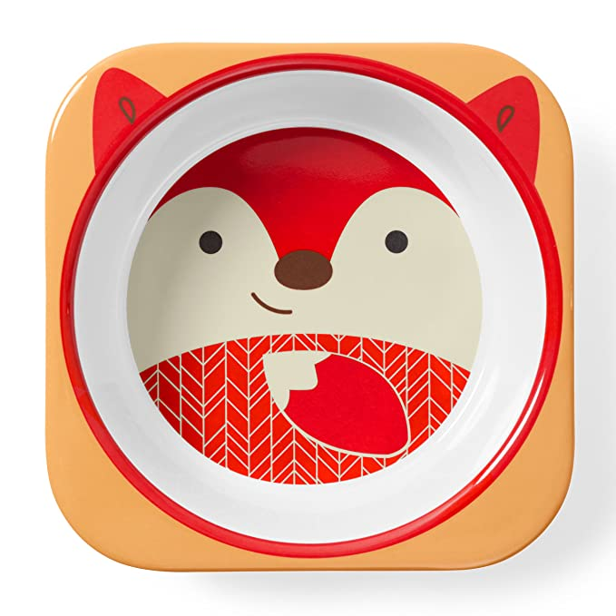 Amazon.com: Skip Hop Baby Bowl: Dishwasher Safe Zoo Bowl, Fox: Baby