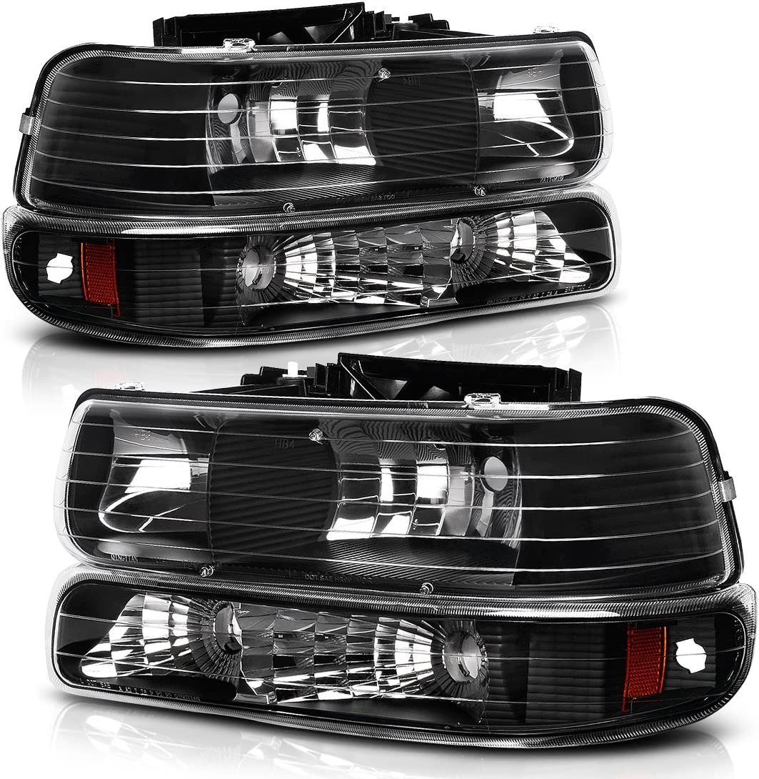 1999 chevy truck tail light diagram amazon com autosaver88 headlight assembly compatible with 1999  autosaver88 headlight assembly