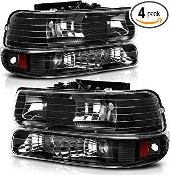 amazon com autosaver88 headlight assembly compatible with 1999 2002 chevy silverado 1500 2500 2001 2002 chevy silverado 1500hd 2500hd 3500 2000 2006 tahoe suburban 1500 2500 headlamp with bumper lights automotive autosaver88 headlight assembly compatible with 1999 2002 chevy silverado 1500 2500 2001 2002 chevy silverado 1500hd 2500hd 3500 2000 2006 tahoe