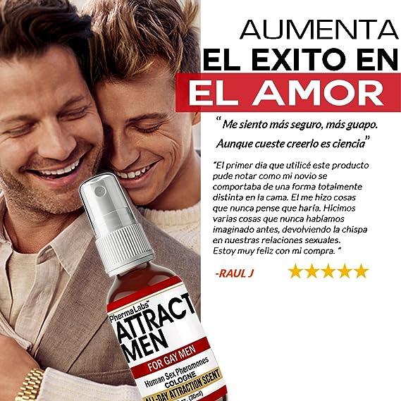 Amazon.com : Gay Feromonas Colonia para Hombre - - Todo El Dia Fragancia - - Atraer Hombres instantáneamente - Mayor Concentración De Feromonas Posible ...