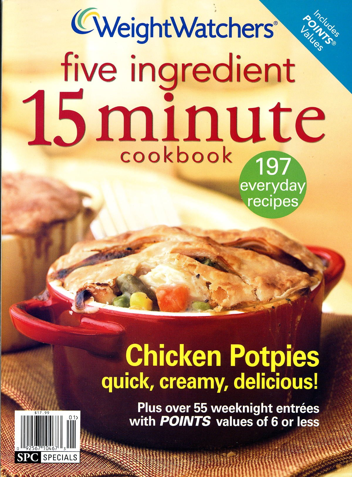 Download Weight Watchers Five Ingredient 15 Minute Cookbook- 197 everyday recipes PDF