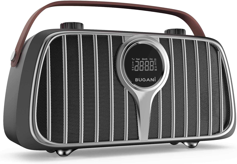 Bugani M128 40W  Bluetooth 5.0 Retro Speaker $34.99 Coupon