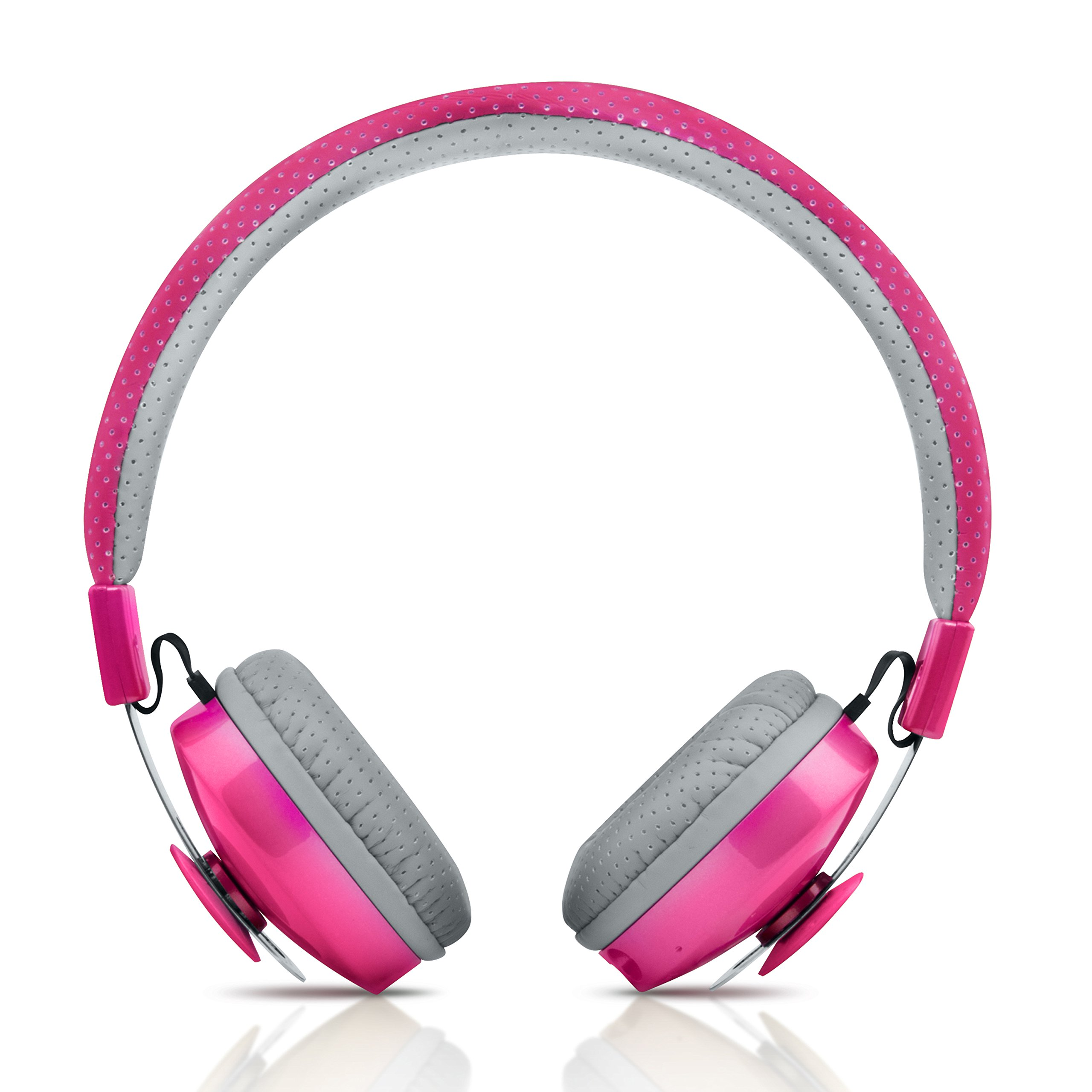 Olio Wireless Bluetooth headphones for kids (Pink)