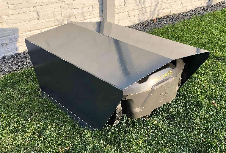 Thermogart Garaje para Robot cortacésped XL, Metal, sin Montaje ...