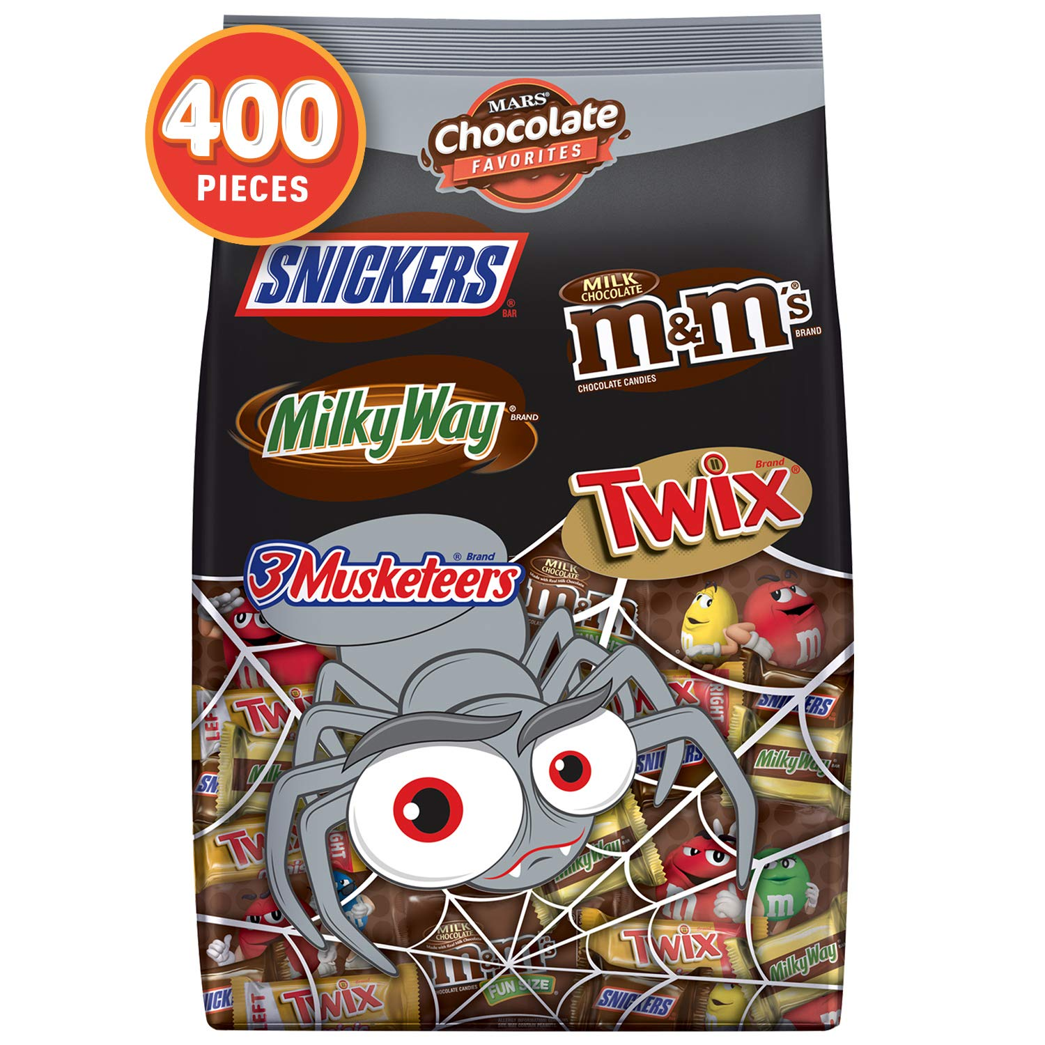 Halloween Hersheys Chocolate Candy Favorites Mix Bulk Bags