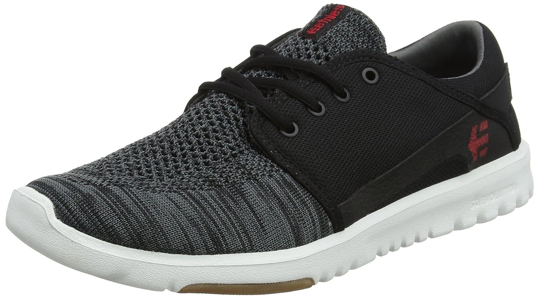 Etnies Scout YB Sneaker 12 D(M) US Black/Dark Grey/Red