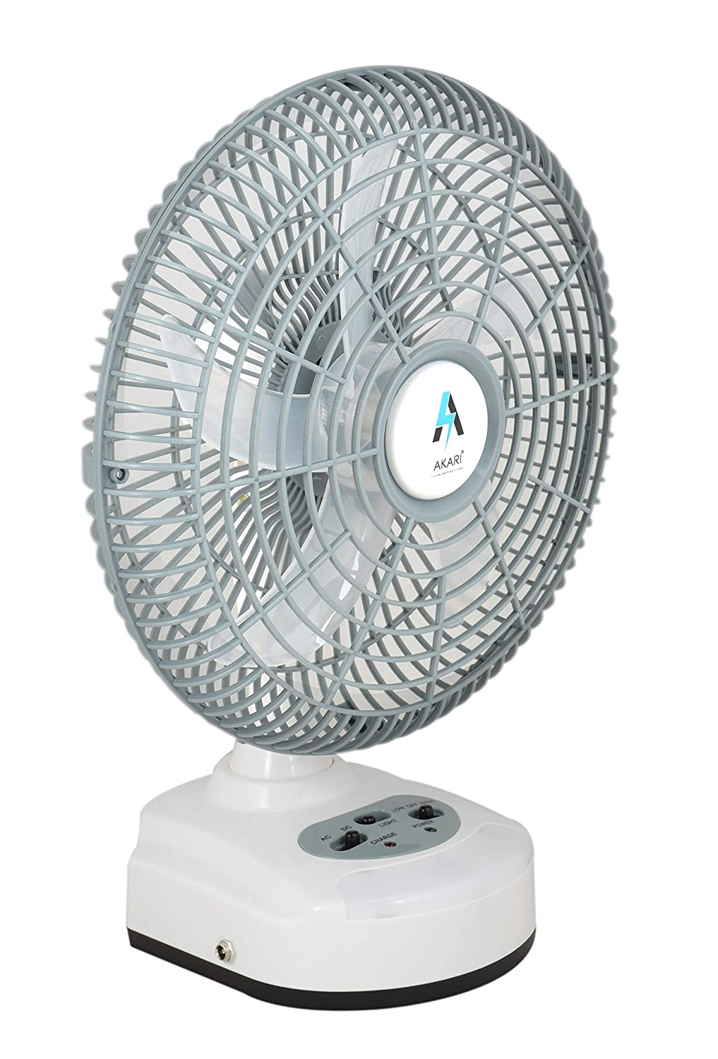 Buy Akari Ak 8010 10 Inch Table Fan With Ac Dc Facility And