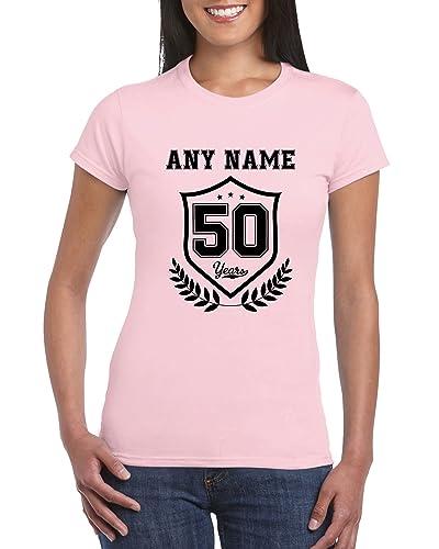 50th Birthday T Shirt For Women