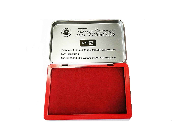 Cuscinetti Inchiostrati per Timbri Rosso Tampone Inchiostro