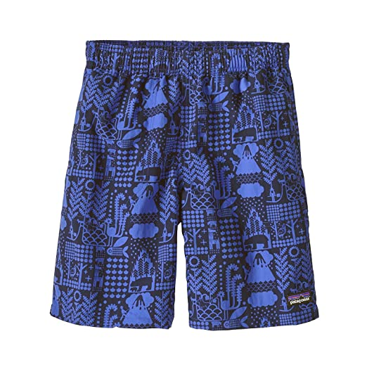 730790b4c5 Image Unavailable. Image not available for. Color: Patagonia Child Boy's  Baggie Printed Shorts (Large ...