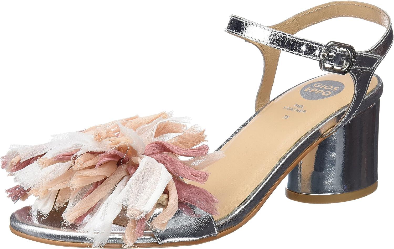GIOSEPPO 45267, Zapatos de tacón con Punta Abierta para Mujer
