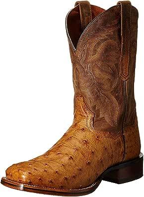 Dan Post Men's Alamosa Western Boot, Saddle Tan, 11.5 D US