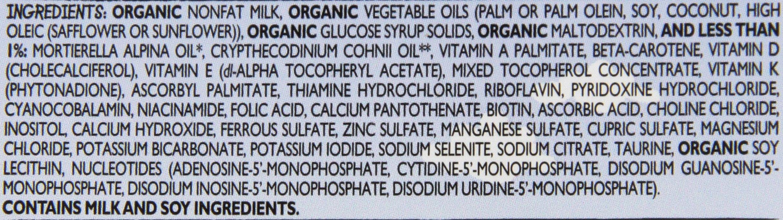 Vermont Organics Milk-Based Organic Infant Formula with Iron, 23.2 oz.  (Pack of 4) by Vermont Organics (Image #3)