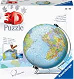 Ravensburger The Earth 540 Piece 3D Jigsaw Puzzle for Kids and Adults - Easy Click Technology Means Pieces Fit Together…