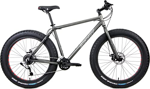 Aluminum Fat Bikes with Powerful Disc Brakes Gravity Monster Mens Fat Tire Bicycle 26 x 4