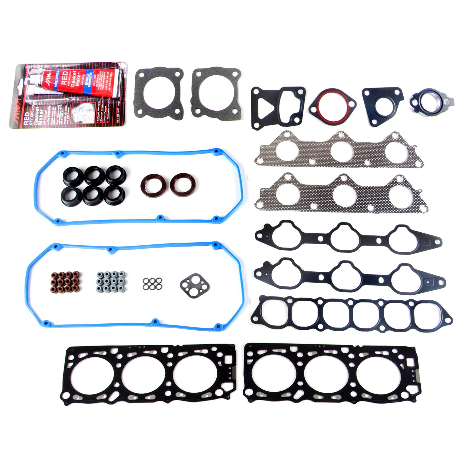 ECCPP Compatible fit for Head Gasket Set Automotive Replacement Engine Head Gasket for 1995-1998 Mitsubishi Montero 19951996 3.0L V6 SOHC ENG''6G72''