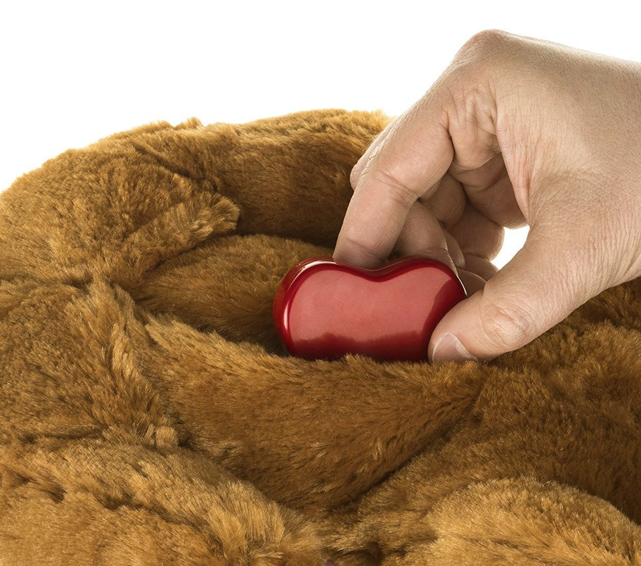 Smart Pet Love Snuggle Puppy Behavioral Aid Toy, Brown Mutt by Smart Pet Love (Image #3)