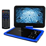 """COOAU 12.5"""" Portable DVD Player with 10.5"""" Swivel"""