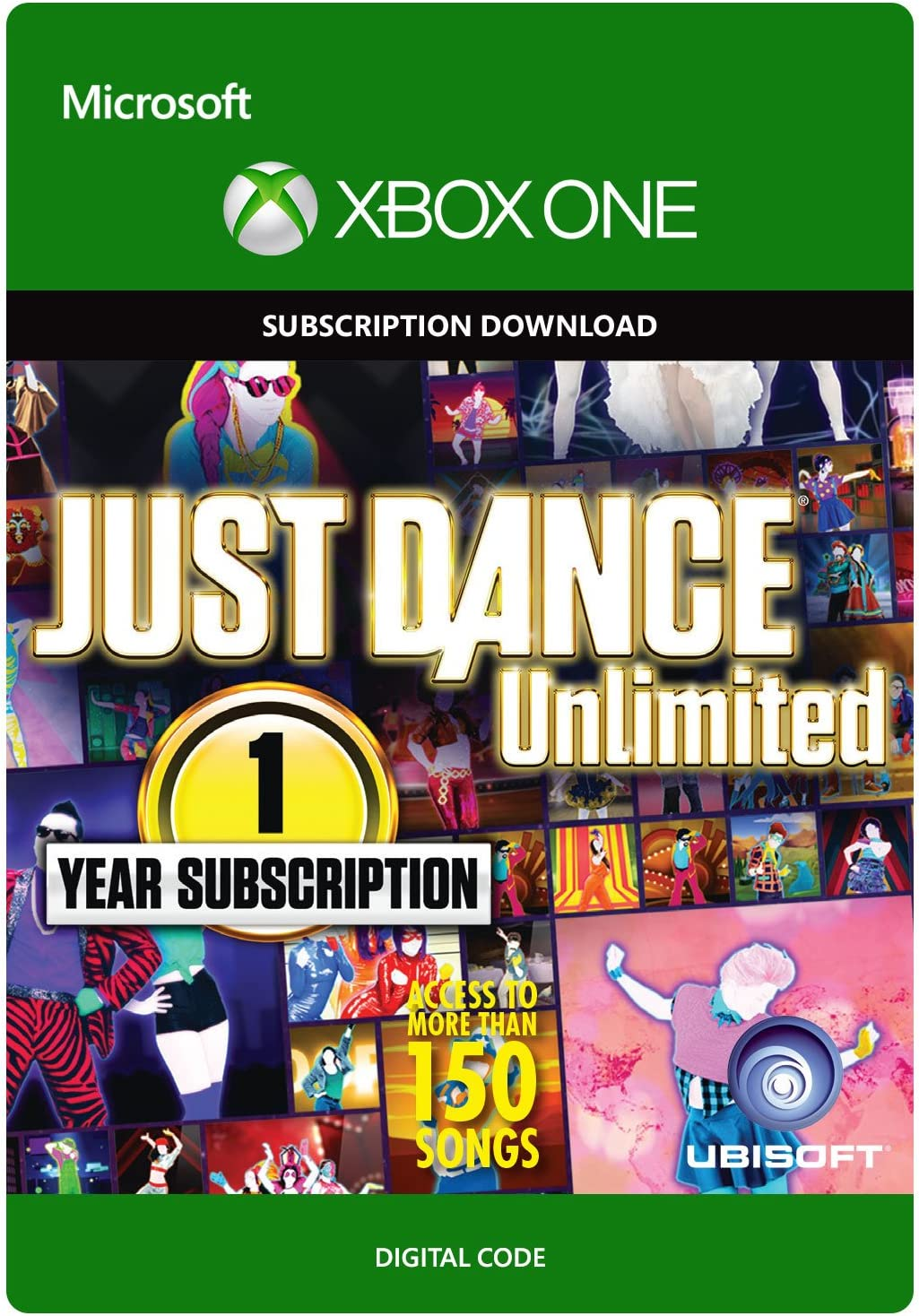 Amazon.com: Just Dance Unlimited: 1 Year Subscription - Xbox ...