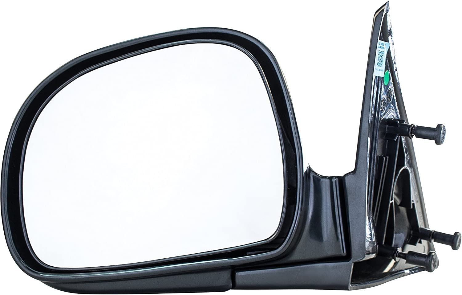 GM1320129 for 1994-2004 Chevrolet Chevy S10 Pickup GMC Sonoma Roane Concepts Replacement Left Driver Side Door Mirror Manual Non-Heated