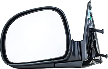 amazon com driver side mirror for chevy s10 blazer gmc sonoma jimmy isuzu hombre oldsmobile bravada 1994 1995 1996 1997 1998 smooth black non heated folding left rear view replacement door mirror gm1320126 automotive driver side mirror for chevy s10 blazer gmc sonoma jimmy isuzu hombre oldsmobile bravada 1994 1995 1996 1997 1998 smooth black non heated folding