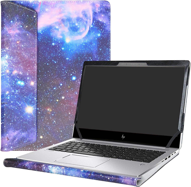 """Alapmk Protective Case Cover for 14"""" HP EliteBook 1040 G4 & Lenovo Chromebook S340/IdeaPad 3 CB 14IGL05/Lenovo Chromebook 3 14 Laptop(Note:Not fit HP EliteBook 1040 G3 G2),Galaxy"""